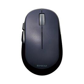 エレコム ELECOM ワイヤレスマウス 無線 5ボタン BlueLED Mサイズ Windows11対応 Chromebook対応認定 EPRIM ブラック M-DY13DBXBK [BlueLED /無線(ワイヤレス) /5ボタン /USB]【rb_mouse_cpn】