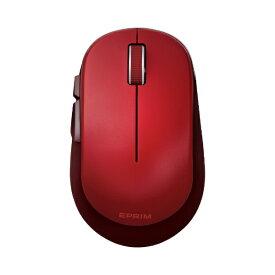 エレコム ELECOM ワイヤレスマウス 無線 5ボタン BlueLED Mサイズ Windows11対応 Chromebook対応認定 EPRIM レッド M-DY13DBXRD [BlueLED /無線(ワイヤレス) /5ボタン /USB]【rb_mouse_cpn】