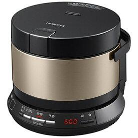 日立 HITACHI RZ-BS2M-N 炊飯器 おひつ御膳 ブラウンゴールド [2合 /圧力IH][RZBS2M]