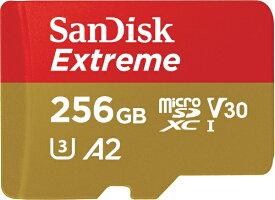 サンディスク SanDisk microSDXCカード Extreme(エクストリーム) SDSQXA0-256G-JN3MD [256GB /Class10][SDSQXA0256GJN3MD]