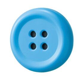 博報堂 HAKUHODO Pechat(ペチャット)/ブルー/ぬいぐるみをおしゃべりにするボタン型スピーカー[P03]