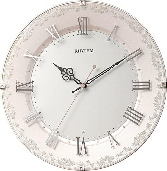 リズム時計 RHYTHM RHYTHM 電波掛け時計 「アラカルト538」 8MY538SR13