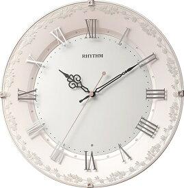 リズム時計 RHYTHM 掛け時計 【アラカルト538】 8MY538SR13 [電波自動受信機能有]