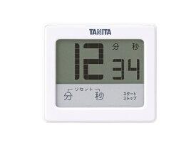 タニタ TANITA 防水タッチパネルタイマー TD-414-WH ホワイト[TD414WH]