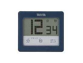 タニタ TANITA 防水タッチパネルタイマー TD-414-BL ブルー[TD414BL]
