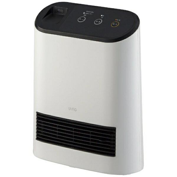 ユーイング UING 電気ファンヒーター US-S1000L-W ホワイト
