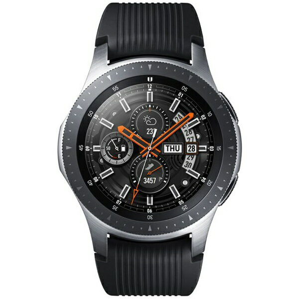 【2018年10月25日発売】 【送料無料】 SAMSUNG サムスン Galaxy Watch (46mm) SM-R800NZSAXJP シルバー