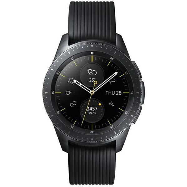 SAMSUNG サムスン Galaxy Watch (42mm) SM-R810NZKAXJP ミッドナイトブラック [通常モードの利用で約3日*4、省電力モードの利用で最大4日間][SMR810NZKAXJP]