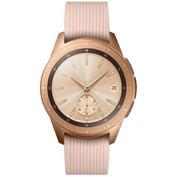 SAMSUNG サムスン Galaxy Watch (42mm) SM-R810NZDAXJP ローズゴールド [通常モードの利用で約3日*4、省電力モードの利用で最大4日間][SMR810NZDAXJP]