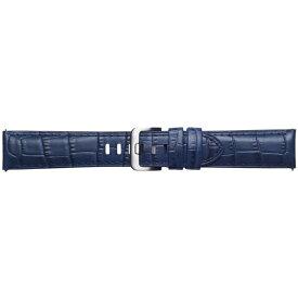SAMSUNG サムスン 【純正】Galaxy Watch交換用ストラップ レザー 22mm GP-R805BREEAAC ネイビー[GPR805BREEAAC]
