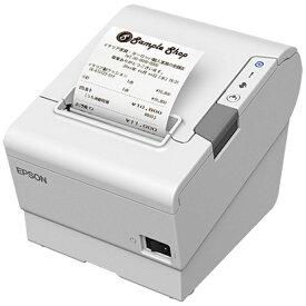 エプソン EPSON レシートプリンター[Bluetooth] ホワイト TM886B502W