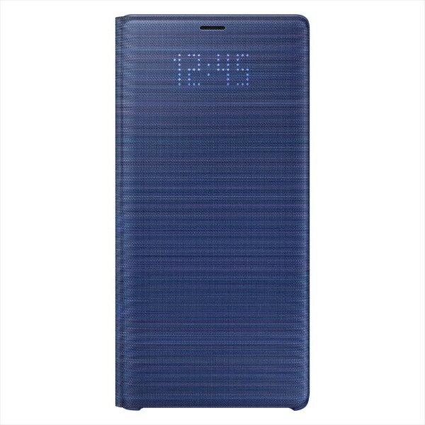 【2018年10月25日発売】 【送料無料】 SAMSUNG サムスン 【純正】Galaxy Note9用 LED View Cover ブルー EF-NN960PLEGJP