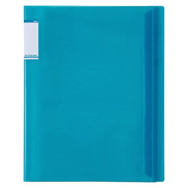 セキセイ SEKISEI ACT-5910 アクティフV フリップクリヤブック A4-S 10ポケット ブルー