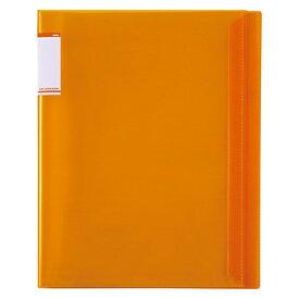 セキセイ SEKISEI ACT-5910 アクティフV フリップクリヤブック A4-S 10ポケット オレンジ