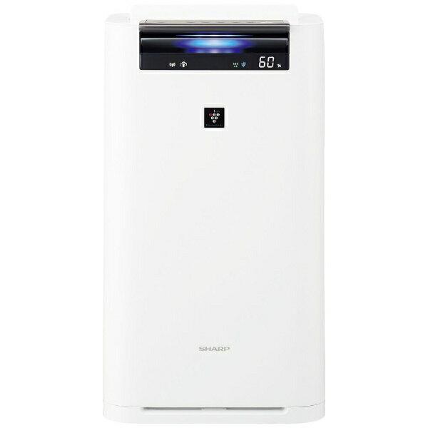 シャープ SHARP KI-JS70-W 加湿空気清浄機 ホワイト系 [適用畳数:31畳 /最大適用畳数(加湿):18畳 /PM2.5対応][KIJS70]