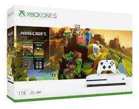 マイクロソフト Microsoft Xbox One S 1TB(Minecraft マスター コレクション同梱版) 234-00670[XboxOneS1TB][ゲーム機本体]