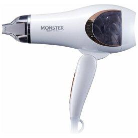 コイズミ KOIZUMI KHD-W735W ヘアードライヤー MONSTER(モンスター) ホワイト [国内・海外対応][ドライヤー 大風量 KHDW735W]