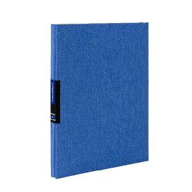 ナカバヤシ Nakabayashi フエルアルバム ルパピエノアール2 A4 ブルー ブルー