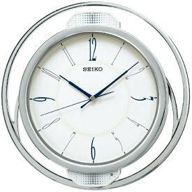 セイコー SEIKO 掛け時計 【ゆっくり振り子】 白パール PH207W [電波自動受信機能有]