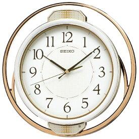 セイコー SEIKO 掛け時計 【ゆっくり振り子】 薄金色パール PH207G [電波自動受信機能有]