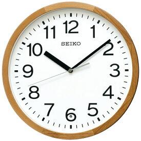 セイコー SEIKO 掛け時計 【スタンダード】 天然色木地 KX249B [電波自動受信機能有][KX249B]