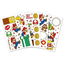 任天堂販売 Nintendo Sales スーパーマリオ ホーム&パーティ ウォールステッカー(アクション)