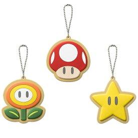 任天堂販売 Nintendo Sales スーパーマリオ ホーム&パーティ ラバーマスコット(スーパーキノコ/ファイアフラワー/スーパースター)