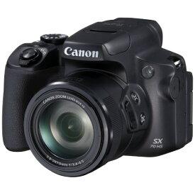 キヤノン CANON PSSX70HS コンパクトデジタルカメラ PowerShot(パワーショット) ブラック[PSSX70HS]