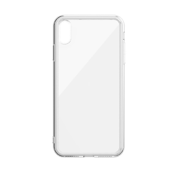 ABSOLUTE technology LINKASE AIR with Gorilla Glass for iPhone XS(側面TPU:クリア) ATAIRIPXS/CL[ATAIRIPXSCL]