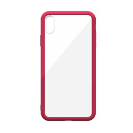 ABSOLUTE TECHNOLOGY アブソルート LINKASE AIR with Gorilla Glass for iPhone XS(側面TPU:ピンク) ATAIRIPXS/PK