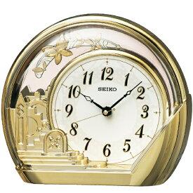 セイコー SEIKO 置き時計 スタンダード 金色 PW428G