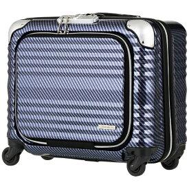 レジェンドウォーカー LEGEND WALKER スーツケース 縦型四輪ファスナータイプビジネスキャリー 32L BLADE(ブレイド) ラフカーボンネイビーシルバー 6206-44-R-NVSL [TSAロック搭載][620644R.NVSL]