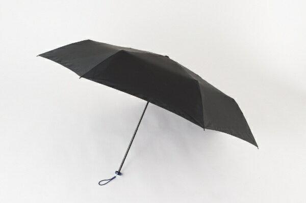 ムーンバット 超撥水軽量折傘58cm 黒