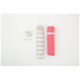 ムーンバット MOONBAT PVCケース付トラピゾイド折傘 ピンク