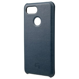 坂本ラヂヲ Italian Genuine Leather Shell Case for Pixel 3 Navy