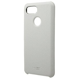 "坂本ラヂヲ ""EURO Passione"" PU Leather Shell Case for Pixel 3 Gray"