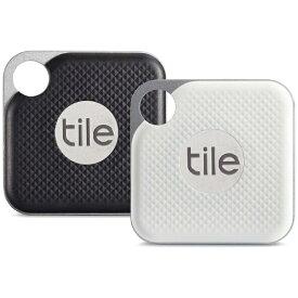 TILE タイル Tile Pro Black & Pro White (電池交換版) コンボパック EC-18002-AP[EC18002AP]