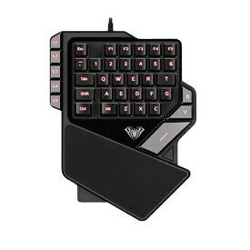 AREA エアリア AS-K2 ゲーミングキーボード 片手用 ブラック [USB /有線][ASK2]