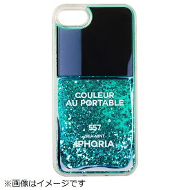 IPHORIA iPhone 8/7 TPU Nail Polish Turquoise