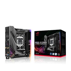 ASUS エイスース ゲーミングマザーボード ROG STRIX Z390-I GAMING [MiniITX /Socket 1151][ROGSTRIXZ390IGAMING]