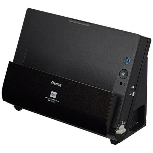 キヤノン CANON スキャナー[A4サイズ /600dpi / USB] コンスーマ向け imageFORMULA DR-C225II ブラック [A4サイズ /USB][DRC225II]