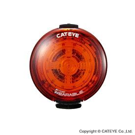 キャットアイ CATEYE USB充電式LEDセーフティライト SYNC WERABLE シンク ウェアラブル(レッド) SLNW100