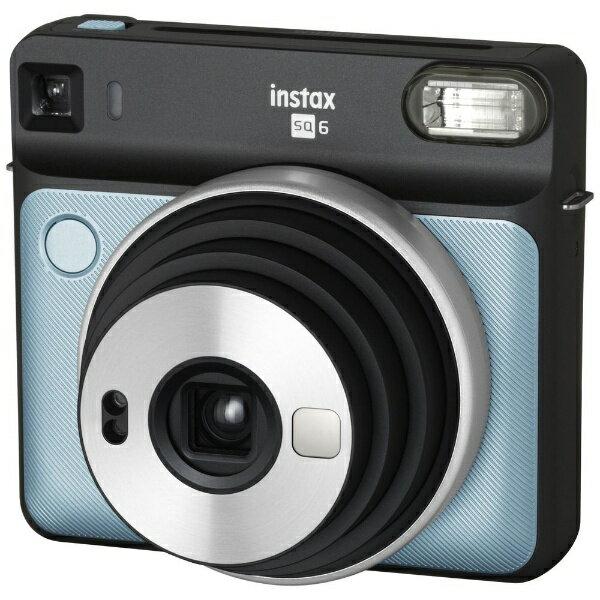 富士フイルム FUJIFILM インスタントカメラ 『チェキ』 instax SQUARE SQ6 アクアブルー[INSSQ6AQUABLUE]