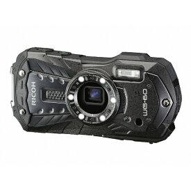 リコー RICOH 防水コンパクトデジタルカメラ RICOH WG-60(ブラック) WG-60 ブラック [防水+防塵+耐衝撃][WG60BK]