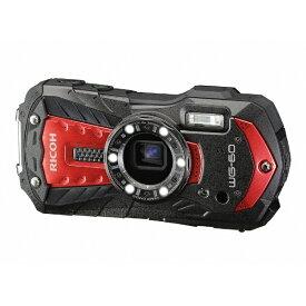 リコー RICOH 防水コンパクトデジタルカメラ RICOH WG-60(レッド) WG-60 レッド [防水+防塵+耐衝撃][WG60RD]