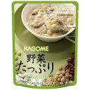 カゴメ KAGOME 野菜たっぷり豆のスープ (160g)