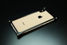 GILD design ギルドデザイン ギルドデザイン ソリッドバンパー for iPhoneXS MAX ブラック GI-423B