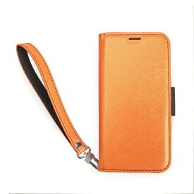 CORALLO コラーロ Corallo NU手帳型合皮ケース foriPXR CRI9MCSPLNUOB OrangeBlack