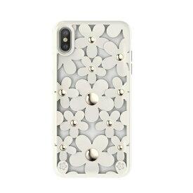 SWITCH EASY スイッチイージー iPhone XS Max対応 Fleur SEI9LCSDLFLWH White