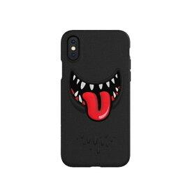SWITCH EASY スイッチイージー iPhone XS Max対応 Monsters SEI9LCSTPMTBK Black